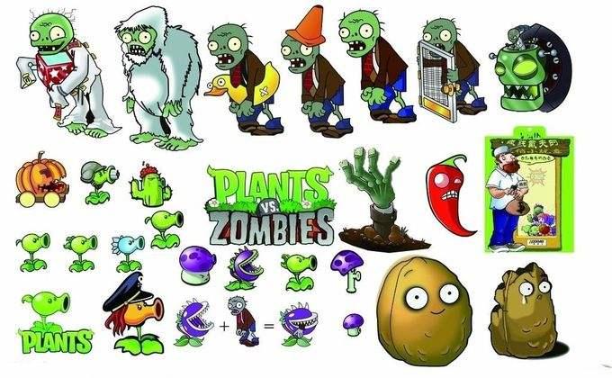 《植物大战僵尸》集成了即时战略、塔防御战和卡片收集等要素,玩家控制植物抵御僵尸的进攻,保护这片植物园。游戏中可以选用的植物有40多种,而每个场景最多只能选用10种植物,这就需要玩家根据自己的游戏策略来作出取舍