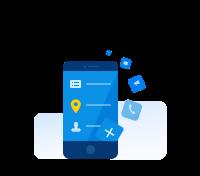 集成日程、会议等效率工具及打卡、审批等OA应用,提供丰富的第三方应用供选择,还支持API接入自有应用。