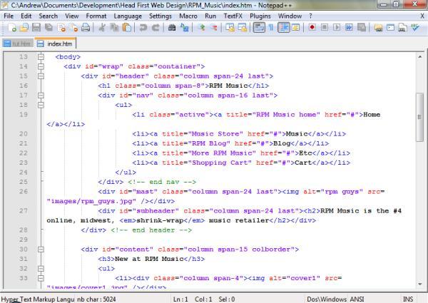 根据关键字显示节点,节点可自由折叠/打开,还可显示缩进引导线,代码显示得很有层次感。