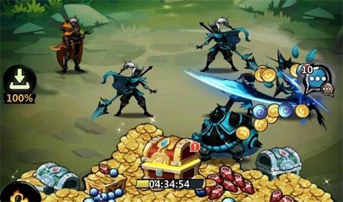 在游戏当中为玩家带来全新的故事剧情,走进不同的世界当中;召唤自己的祭坛,可以获得各种不同的英雄。在游戏当中, 打造属于你的最强阵容,挑战各种副本;各种不同的战斗玩法内容,带来各种不同的战斗体验。